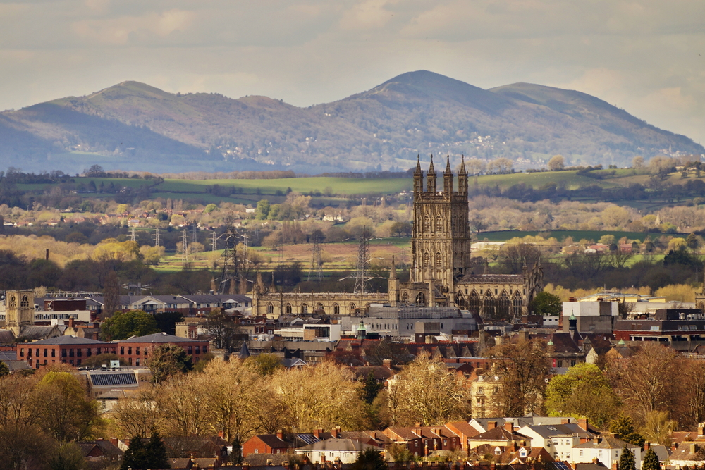 Gloucester skyline