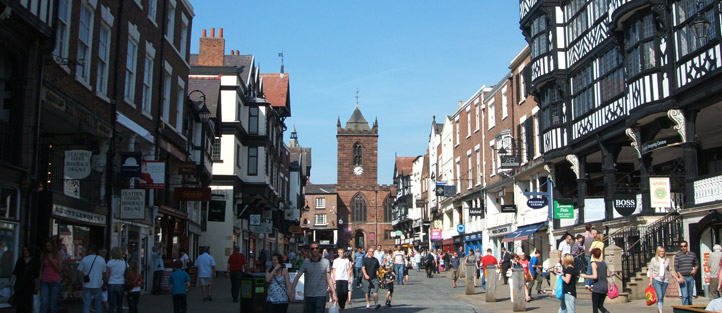 Highstreet in Chester