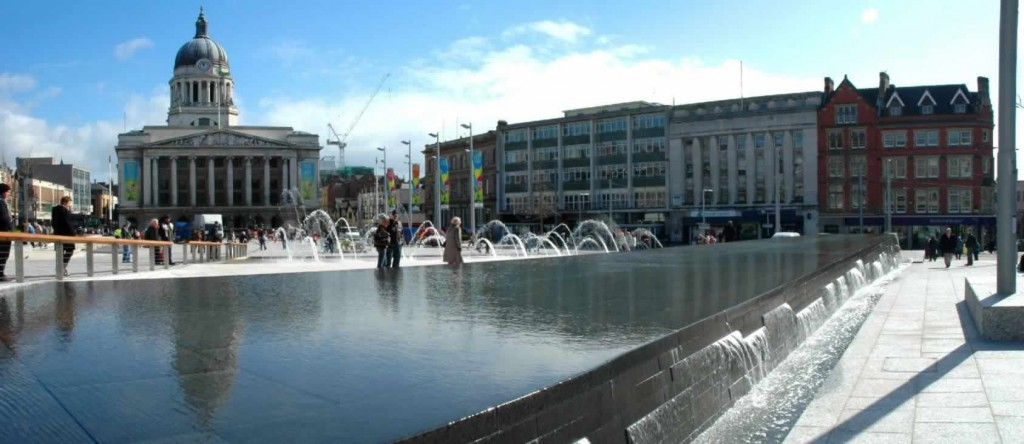 Nottingham water feature